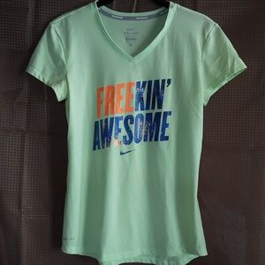 Nike Running  FREEKIN' AWESOME graphic tee
